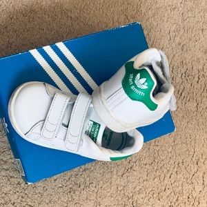 Adidas Velcro strap STAN SMITH Sneakers Toddler